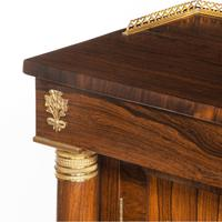 Pair of Late Regency Rosewood Side Cabinets (4 of 8)