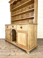 Antique Pine Farmhouse Kitchen Dresser (8 of 10)