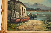 Antique Italian Landscape Oil Painting by Tardini (4 of 10)
