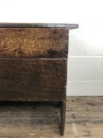 Early 18th Century Six Plank Oak Coffer (15 of 20)