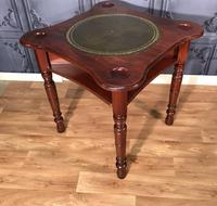 Victorian Walnut Games Card  Table (6 of 11)