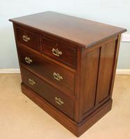 Antique Walnut Chest of Drawers (8 of 9)