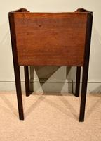 George III Tambour Fronted Bedside Table / Commode (7 of 7)