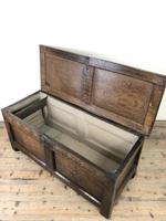 Early 19th Century Antique Oak Coffer Blanket Box (12 of 19)