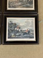Set of Four 19th Century Hunting Prints (5 of 6)