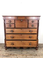 Large Victorian Mahogany Chest of Drawers (10 of 16)
