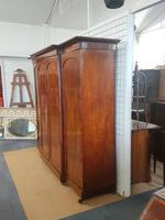 Antique Victorian Breakfront Wardrobe (2 of 6)