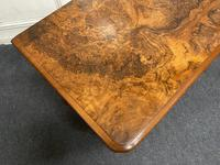 Fine Rare Burr Walnut Writing Table or Desk (20 of 20)