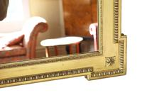 Large Gilt 19th Century Overmantle or Wall Mirror (6 of 7)