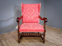 Charles II Period Winged Armchair (8 of 8)