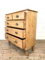 Victorian Pine Chest of Drawers (8 of 9)