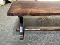 French Farmhouse Dining Table & Benches Set (14 of 33)