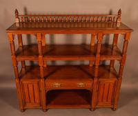 Good Victorian Buffet or Serving Sideboard (2 of 8)