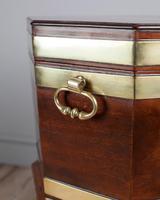 George III Mahogany Brass Bound Wine Cooler (5 of 8)