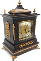 Amazing New Haven mantle clock 8 Day Westminster Chime Bracket Clock Very Rare (3 of 10)