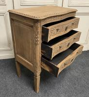 French Bleached Oak Chest of Drawers (3 of 12)