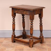 Carved Oak Joint Stool (12 of 15)