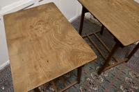 Pair of Arts & Crafts Elm Tables (5 of 8)