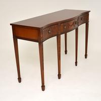 Antique Sheraton Style Mahogany Server / Side Table (4 of 12)