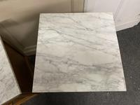 Pair of French Marble Top Bedside Cupboards (9 of 13)