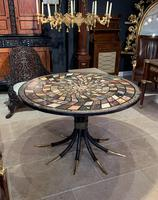 Large Italian 19th Century Specimen Marble Top Centre Table (12 of 14)