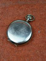 A.W.C CO Empress Canada Case, Swiss Movement Full Hunter Pocket Watch Gold Plated (6 of 7)