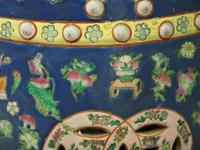 Pair of Chinese Qing Dynasty Painted Barrels / Seats (17 of 17)