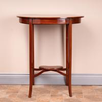 Edwardian Inlaid Mahogany Kidney Shape Occasional Table (10 of 15)