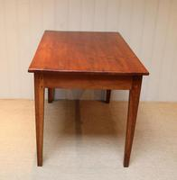 Small Proportioned French Provincial Cherry Wood Table (4 of 10)