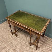 Stunning Victorian Arts & Crafts Walnut Antique Desk (8 of 8)