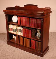 Open Bookcase in Mahogany 19th Century - England (3 of 9)