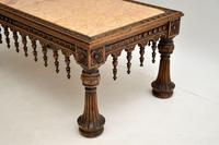 Antique Carved Marble Top Coffee Table (10 of 14)