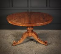 Walnut Breakfast Table By Holland & Sons (10 of 14)