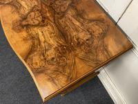 Re Finished Burr Walnut Serpentine Chest of Drawers (10 of 10)