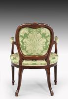 Hepplewhite Design Mahogany Framed Chair (3 of 5)