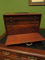 Antique Mahogany Engineers or Toolmakers Drawers, Cabinet, Lockable with Key (5 of 20)