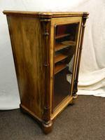 Inlaid Walnut Music Cabinet (3 of 5)
