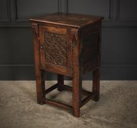 Small Oak Side Cabinet (4 of 7)