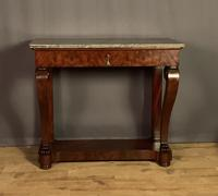 French Louis Philippe Period Mahogany Console Table (6 of 12)