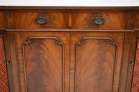 Regency Style Mahogany Grill Front Sideboard (12 of 12)