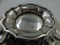 Fine Early Victorian Silver Swing Handle Basket by Benjamin Smith II London 1840 (9 of 10)