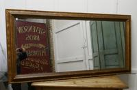 19th Century Large French Shabby Gilt Mirror (5 of 8)