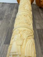 Dutch Golden Age Style Gilt Harvest Relief Plinth Display Torcheres (12 of 87)