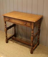 Light Oak Hall Table (3 of 11)