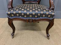 Pair of 19th Century French Rosewood Armchairs (10 of 16)