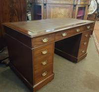 Antique Pedestal Desk (2 of 6)