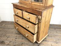 Antique Victorian Pine Dresser with Glazed Top (3 of 13)
