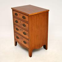 Small Antique George III Mahogany Chest of Drawers (3 of 8)