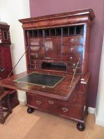 Stunning William & Mary Period Walnut Inlaid Escritoire (17 of 17)