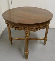 Round Gilt Occasional Table (3 of 4)